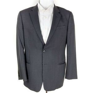 Giorgio Armani Two Button Suit Jacket Black 42 R